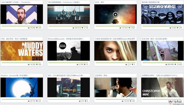 【经典网站】Vidlis:在线免费音乐视频网