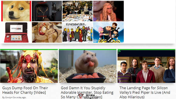 【经典网站】Geekosystem:互联网文化新闻网