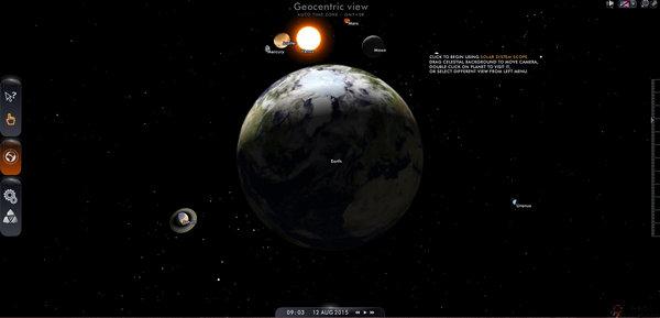 【经典网站】SolarSystemScope:在线三维太阳系模拟网