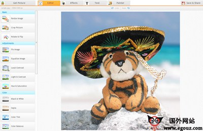 【工具类】Ipiccy:免费在线图片编辑工具