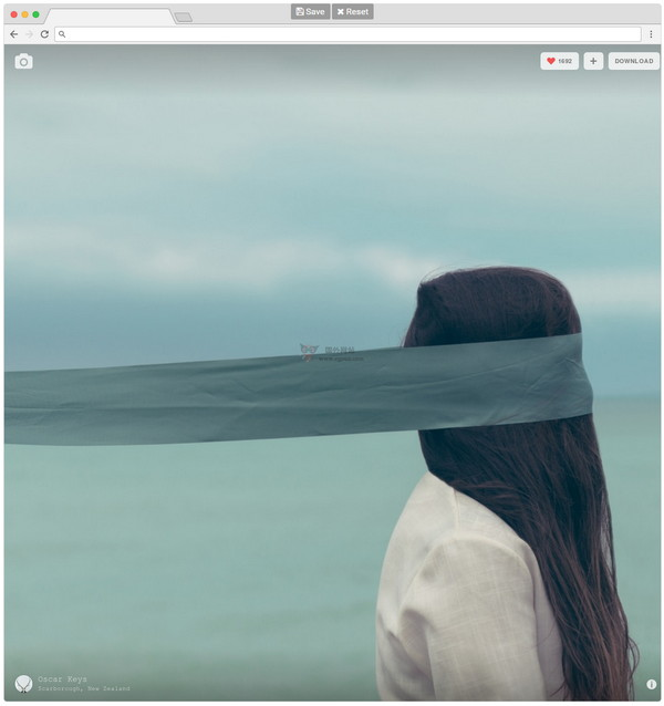 【工具类】BrowserFrame|在线图片边框添加工具