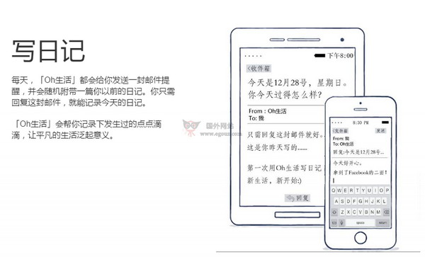 【经典网站】Oh生活在线云日记