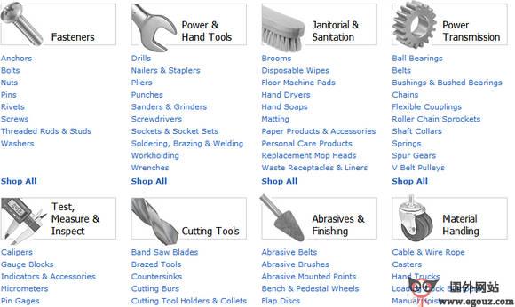 【经典网站】AmazonSupply:工业电子商务平台