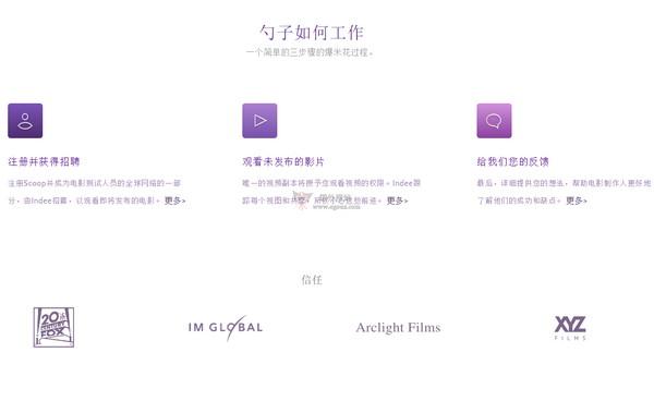 【经典网站】Scoop|电影预告片欣赏与反馈网