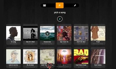 【工具类】Evver:在线图片+音乐影片制作网