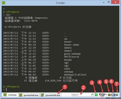 【工具类】Cmder:Windows系统命令行工具