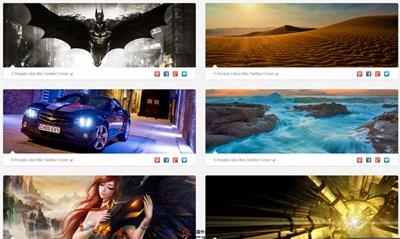 【素材网站】TwitrCovers:免费Twitter封面图片素材