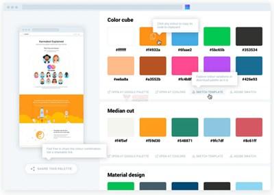 【工具类】SitePalette 基于浏览器网站颜色获取工具