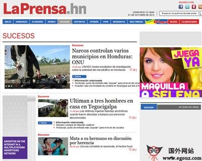 【经典网站】Laprensa.hn:阿根廷新闻报官方网站