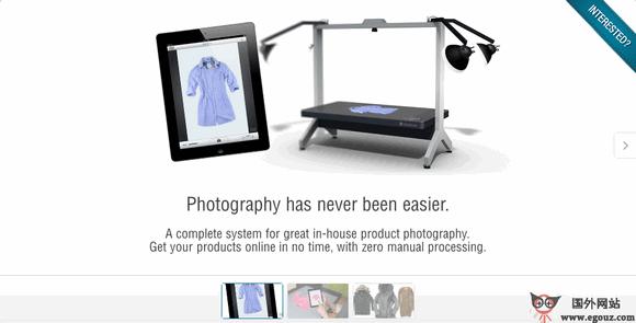 【经典网站】IshopShape:一体化室内摄影平台
