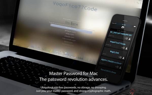 【经典网站】MasterPassword:跨平台密码生成器
