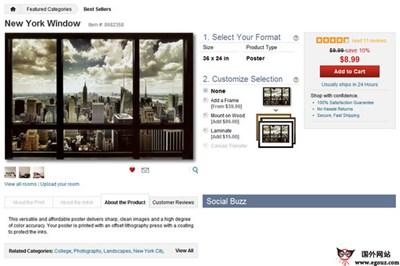【经典网站】AllPosters:在线艺术品交易平台