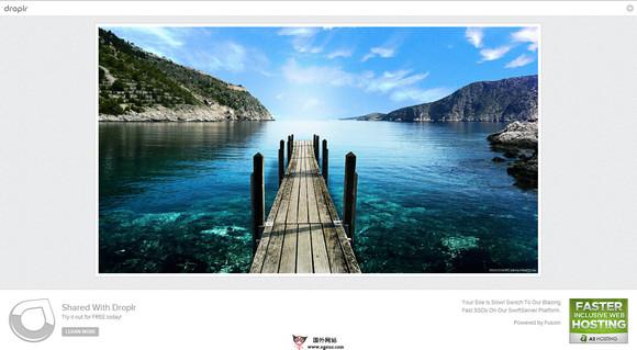 【经典网站】Droplr:免费在线文件存储分享平台