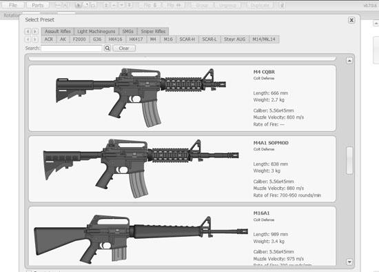 【数据测试】Pimp My Gun,在线组装各种枪械
