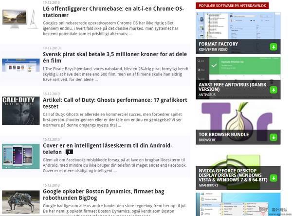 【经典网站】TomsHardWare:丹麦汤姆硬件资讯网