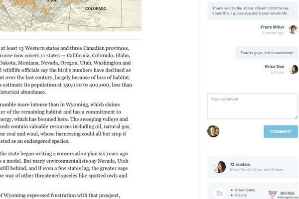 【经典网站】Readonomy:在线团队阅读共享平台