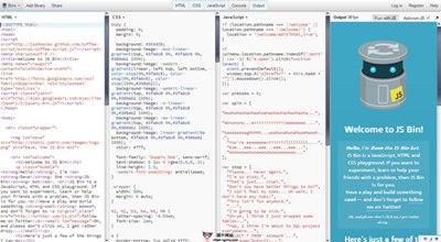 【工具类】JSbin:在线网站代码调试工具
