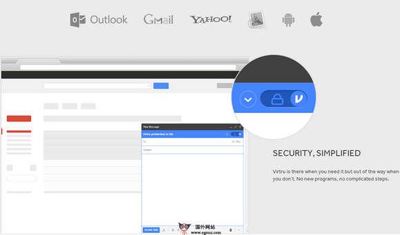 【工具类】Virtru:在线邮件加密服务平台