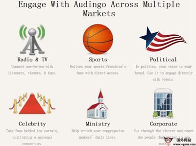 【经典网站】Audingo:名人粉丝俱乐部互动平台