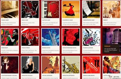 【经典网站】JazzRadio:在线爵士音乐平台