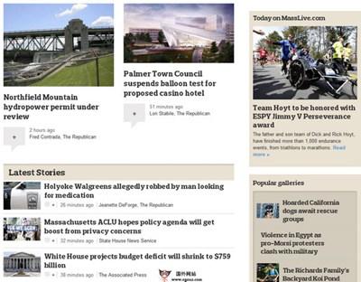 【经典网站】MassLive:马萨诸塞州本土新闻网