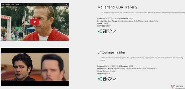 【经典网站】TrailerGods:最新电影预告片分享网