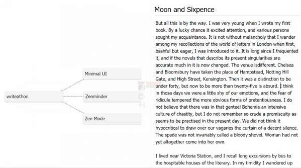 【工具类】Writeathon|在线极简高效写作平台