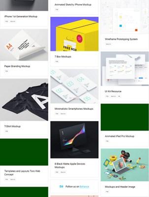 【素材网站】LSFreebies|免费包装和产品设计素材网
