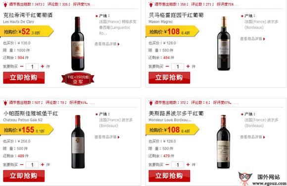 【经典网站】YesMyWine:也买酒销售评论社区