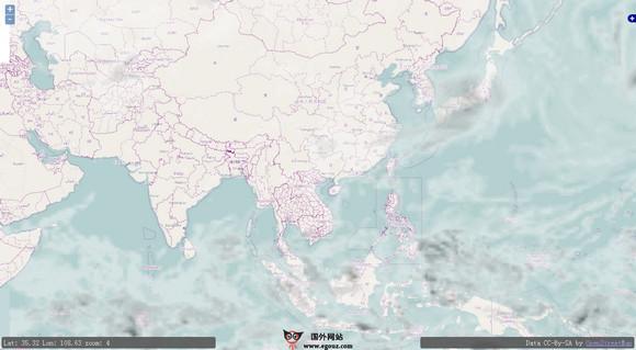 【经典网站】OpenWeatherMap:开放式天气预报地图