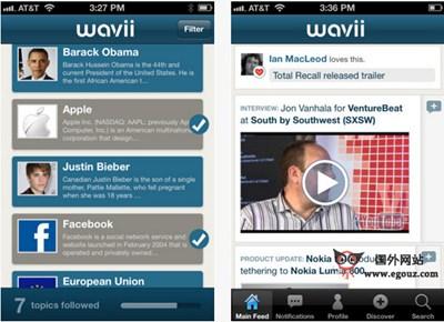 【工具类】Wavii:信息资讯阅读筛选工具