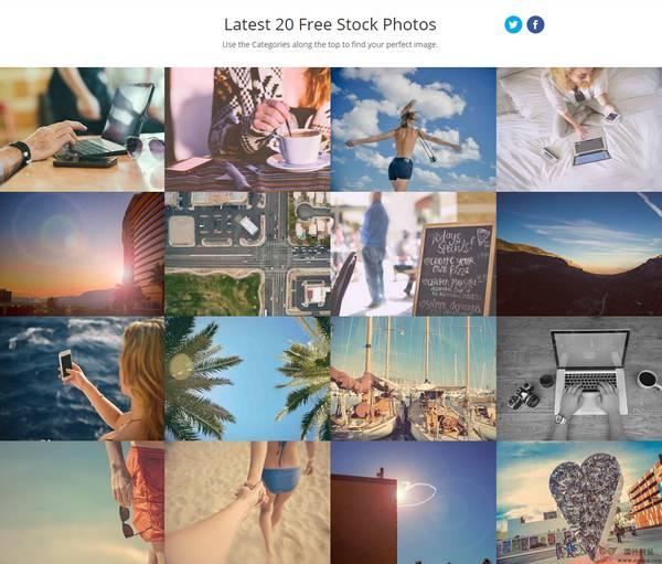【素材网站】免费商用图片素材为【Stokpic】