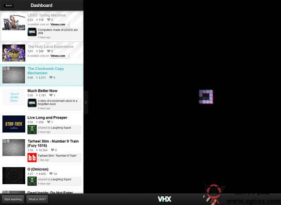 【经典网站】VHX.TV:影视流媒体电视台视频网