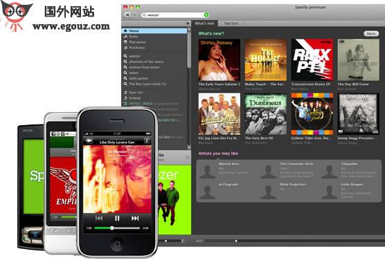 【经典网站】SpotiFy:免费音乐在线播放器
