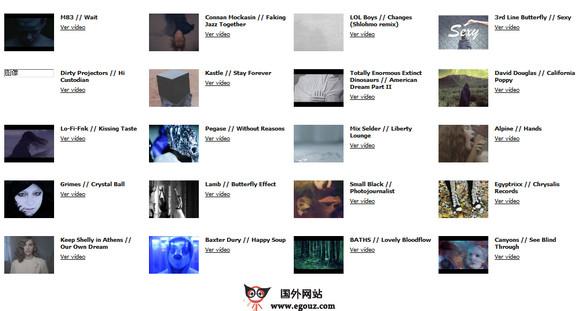 【经典网站】Mxsxk.FM:免费概念音乐电台