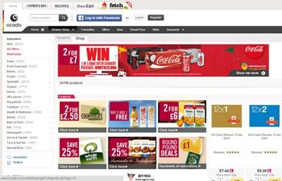 【经典网站】oCado:英国农副产品B2C零售平台