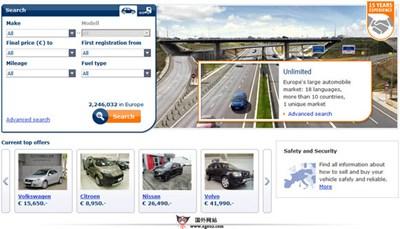 【经典网站】AutoScout24:欧洲二手车分类信息平台