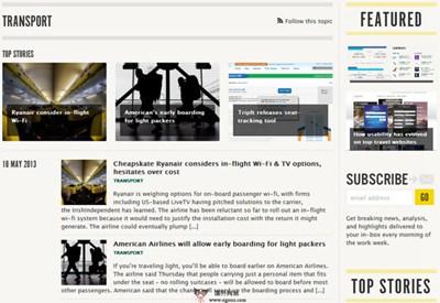 【经典网站】Skift:旅游行业热点新闻网