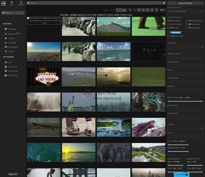 【经典网站】Nimia:视频素材版权管理平台