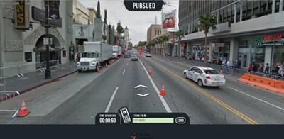 【经典网站】Pursued:基于谷歌街景猜地图小游戏