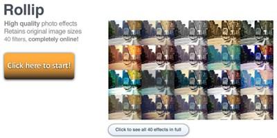 【数据测试】Rollip,简单在线制作LOMO风格照片
