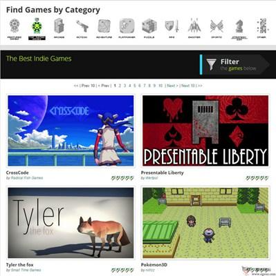 【经典网站】GameJolt:独立游戏分享社区