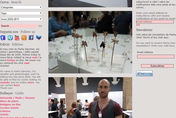 【经典网站】18KT 当代珠宝设计分享博客