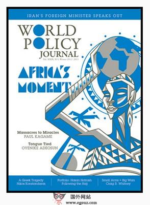 【经典网站】WorldPolicy:世界经济研究杂志