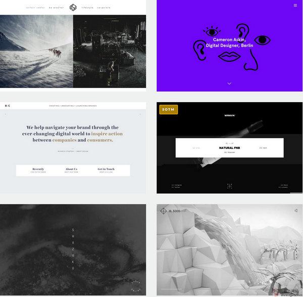 【素材网站】InspiriZone:网页设计灵感推荐网