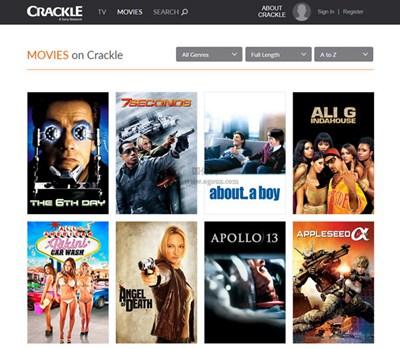 【经典网站】Crackle|索尼影视娱乐视频网