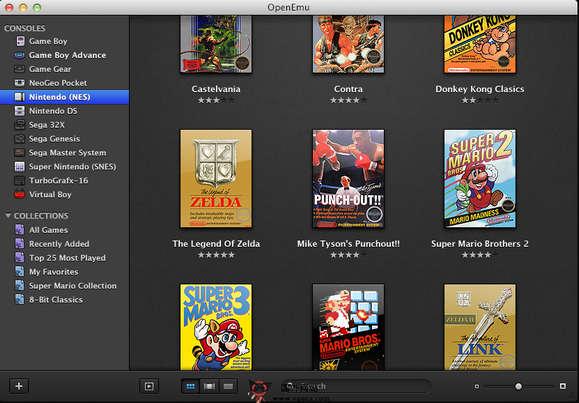 【经典网站】Openemu:苹果系统开源游戏模拟器工具