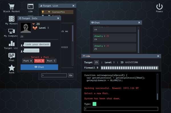 【经典网站】s0urce|在线黑客模拟游戏网