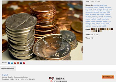 【素材网站】PixelPerfectDigital:免费商业图片素材下载站