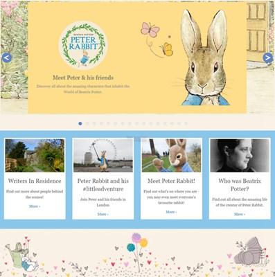 【经典网站】PeterRabbit|英国儿童图画小说官网